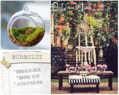 Burbuluz / Esferas de cristal / bubujas de vidrio / / Ideas originales para decorar boda / decoracion fiestas / eventos / Globos de Luz México / COMPRA AQUÍ: www.globosdeluz.com ventas@globosdeluz.com