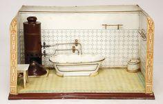 Badezimmer Märklin Um 1900