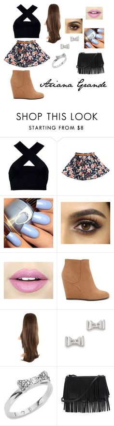 """""""Ari"""" by pontesthuany on Polyvore featuring Motel, Fiebiger, Forever 21, Marc by Marc Jacobs, Kate Spade and White House Black Market"""