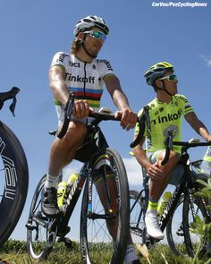 World champion Peter Sagan (Tinkoff) about to start his first race in the rainbow jersey in Argentina!