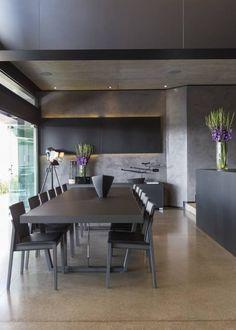 Salas de jantar Moderno por Meulen Architects