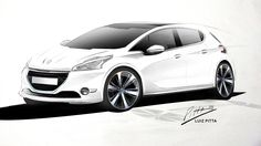 Peugeot 208 - Personal Project