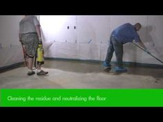 How to Acid Stain Concrete Floors - Staining Step 2 Acid Stained Concrete Floors, Concrete Staining, Concrete Finishes, Outdoor Projects, Home Projects, Building A New Home, Flooring Options, Diy Home Improvement, Diy Organization