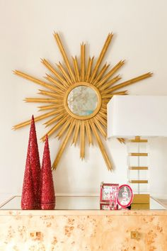 red and gold Christmas color scheme