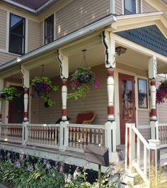 Front porch detail.