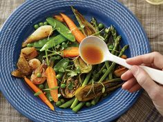 Crisp spring vegetables pair with a flavorful, vanilla-scented broth in this Provençal classic.