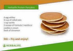 Herbalife pancakes More