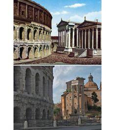 10 Arquitectura Romana Ideas Historical Architecture Rome Architecture