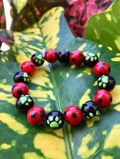 Miraculous Ladybug and Cat Noir Bracelet