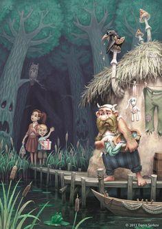 children's book illustrations by denis serkov (1)