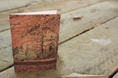 Autumn fall blank, handmade greeting card, set of three, perfect for Thanksgiving