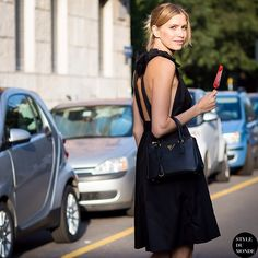 #New on #STYLEDUMONDE  http://www.styledumonde.com  with @lenaperminova #LenaPerminova at #milan #fashionweek #prada #outfit #ootd #streetstyle #streetfashion #streetchic #streetsnaps #fashion #mode #style