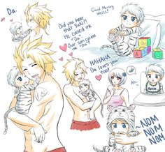 Meet Weiss, son of Sting and Yukino :) -Sabertooth / Fairy Tail Sting X Yukino