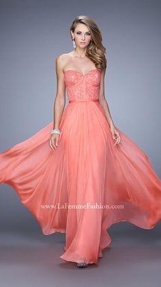 La Femme 21079   La Femme Fashion 2015 - La Femme Prom Dresses - La Femme Short Dresses