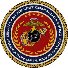 Starfleet Command U.F.P. Marine Corps Seal by viperaviator.deviantart.com on @DeviantArt