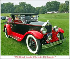 1928 Buick Standard Six Series 115 Roadster