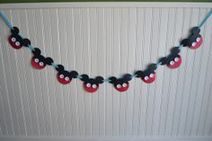 Mickey Mouse Button Banner