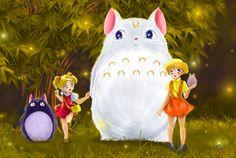 My Neighbor Totoro by Pillara
