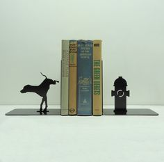 Bookends with a sense of humor. For all the dog lovers who might also be book lovers, this is perfect!