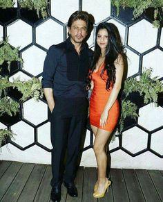 SRK with daughter Suhana khan