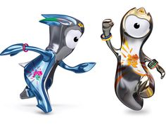 Creative agency iris has unveiled Wenlock (right) and Mandeville, the mascots for the London 2012 Olympic and Paralympic Games. Olympic Mascots, London Olympic Games, 2012 Summer Olympics, Love Lily, Cool Packaging, Discipline, Color Games, Olympic Sports, London