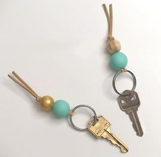 Dress Up Your Keys With 20 DIY Keychains via Brit + Co