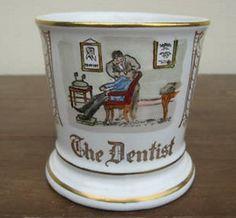 occupational shaving mug