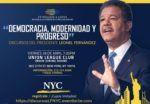 Pondrán a circular libro de Leonel en Nueva York y la Florida