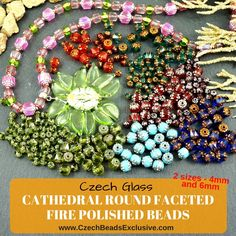 🕌Czech Glass Cathedral Round Faceted Fire Polished Beads 🌈 2 Sizes and 3 Finishes! - Buy now with discount! ~>> click link in bio @beadsczech to check them! 🔥 Hurry up - sold out very fast! www.CzechBeadsExclusive.com/+cathedral ❤️Like them! 🖊Write comments + tag your beading friends who will be interested! ⚡️Lowest price from manufacturer! 🎁Get free gift! 📦1 shipping costs - unlimited order quantity! 🌍 Worldwide super fast ✈️ shipping with tracking number! 🛒Get high wholesale…