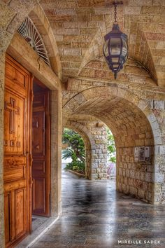 Jal el dib - Lebanon Old Stone Houses, Old Houses, Beautiful Sites, Beautiful Places, Old House Design, Naher Osten, Bohemian House, Brick And Stone, Rafting