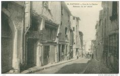POITIERS - Rue de la Chaine - Date photo inconnue.