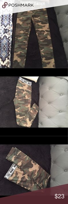 Camouflage pants/leggings.New , without tags Camouflage pants , New , without tags , size M Forever21 , Pants Leggings