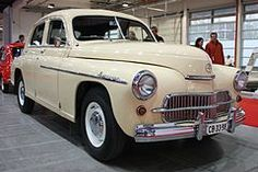 Warszawa - legendary polish car