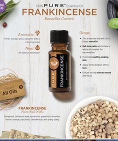 Did someone say Frankincense is great for skin and wrinkles? Ummm yes please! Melaleuca Essential Oil, Are Essential Oils Safe, Essential Oil Blends, Green Products, Pure Products, Melaluca Products, Melaleuca The Wellness Company, Aromatherapy Oils, Oil Uses