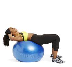 6 Easy Moves With a Stability Ball - GoodHousekeeping.com