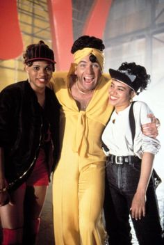 John Ritter with Salt-N-Pepa in Stay Tuned