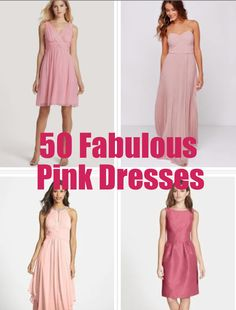 50 Fabulous Pink Dresses