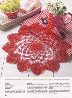 1 million+ Stunning Free Images to Use Anywhere Chevron Crochet Patterns, Crochet Stitches Patterns, Doily Patterns, Crochet Patterns For Beginners, Crochet Diagram, Crochet Chart, Free Crochet, Beau Crochet, Crochet Santa