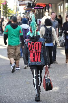 awesome punk spotted in #vancouver