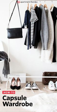 Capsule wardrobes: This on-trend idea for any fashion lover with a penchant for organization, and a tight budget. This week, I'm showing how I made my first capsule and sharing tips on how to structure and create a capsule wardrobe of your own.