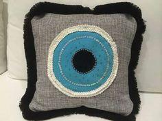 evil eye pillow