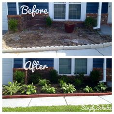 Low Cost Landscaping 17 easy and cheap curb appeal ideas anyone can do | trash bins