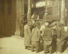 Selling sweet to kids, Shanghai 1920