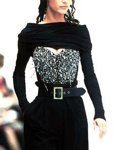 Marpessa Hennick, Dolce and Gabbana 1991