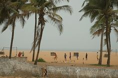 Beaches Near Lome Togo, West Africa how I miss it / Good times
