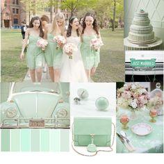 Mint Green Theme Wedding Ideas like this green colour btb Wedding Color Schemes, Wedding Colors, Colour Schemes, Color Palettes, Green Wedding, Our Wedding, Wedding Things, Mint Gold Weddings, Vintage Weddings