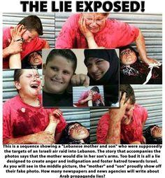 Palestinian lies