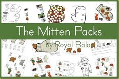 Free The Mitten Printable Packs (Tot-First Grade)