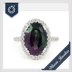 Introduce some COLOR into the New Year with this beautiful Alexandrite gemstone ring!