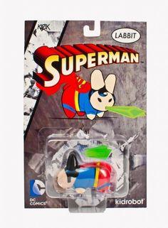 Kidrobot DC Universe Superman Labbit Mini